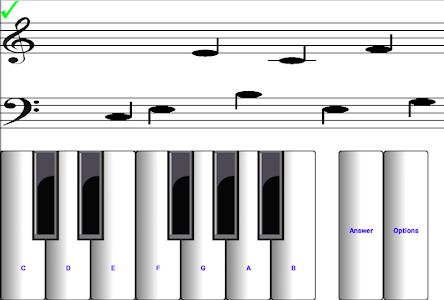 screenshot of ¼ Learn music read music version 6.0.6