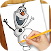 Download Learn to Draw Olaf Frozen 1.03 APK