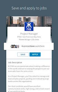 screenshot of LinkedIn version 4.1.223