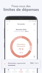 screenshot of Linxo - mon budget, ma banque version Varies with device