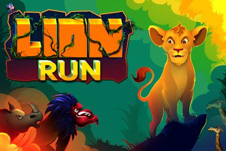 screenshot of Lion Run- Adventure King version 1.1.8