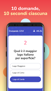 screenshot of Live Quiz - Vinci Soldi Veri version 1.0.74