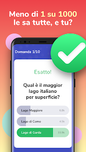 screenshot of Live Quiz - Vinci Soldi Veri version 1.0.77