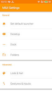 Download MIUI Launcher 1.0.5 APK