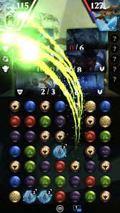 screenshot of Magic: The Gathering - Puzzle Quest version 3.1.0