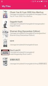 screenshot of Manga Reader - Free Manga version 1.0