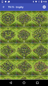 screenshot of Maps of Clash Of Clans version 1.31
