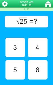 screenshot of Math Games version 2.0