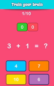 Download Math Games, Learn Add, Subtract, Multiply & Divide 1.12 APK