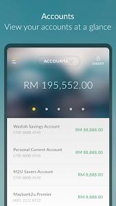 screenshot of Maybank MY version 4.3
