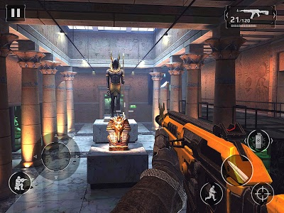 screenshot of Modern Combat 5: eSports FPS version 3.6.1a