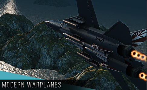 screenshot of Modern Warplanes version 1.1