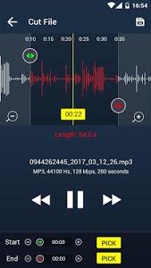 screenshot of Music player version 2.0