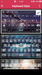 screenshot of My Photo Keyboard version 2.0