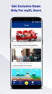 screenshot of myXL – Cek Kuota & Beli Paket XL version Varies with device