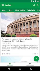 screenshot of Narendra Modi version 4.0.2