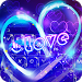 Download Neon Heart Keyboard Theme 6.7.1 APK