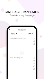 screenshot of Voice Translator version V.26.0