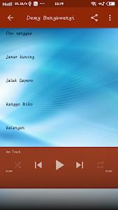 screenshot of Dangdut Song version 3.1