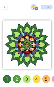 screenshot of Paint By Number - Free Coloring Book & Puzzle Game version 1.5.4