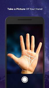 screenshot of PalmistryHD - Palm Reading & Daily Horoscope version 2.8.2