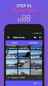 screenshot of Panda Video Compressor: Resize & Compress Video version 1.0.8