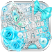 Download Paris Diamond Butterfly keyboard 10001003 APK