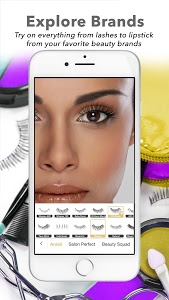 screenshot of Perfect365: One-Tap Makeover version 7.65.6