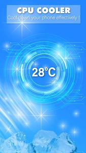 screenshot of Phone Cooler version 1.2