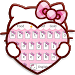 Download Pink Cute Kitty Cartoon Keyboard Theme 10001004 APK