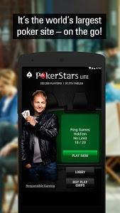 screenshot of PokerStars Poker: Texas Holdem version 1.54.0.790