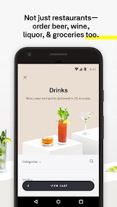 screenshot of Postmates Food Delivery: Order Eats & Alcohol version 5.0.7