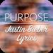 Download Purpose - Justin Bieber Lyrics 2.1 APK