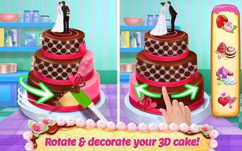 screenshot of Real Cake Maker 3D - Bake, Design & Decorate version 1.7.0