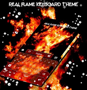 Download Real Flame Keyboard Theme 1.279.13.93 APK