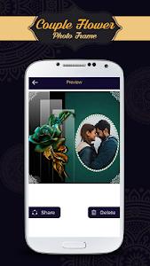 Download Romantic Love Couple Fower Photo Frame 2.0 APK