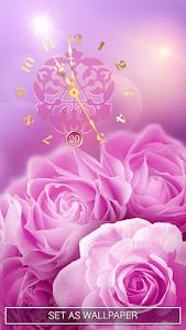 Download Rose Clock Live Wallpaper ? 3.0.1 APK