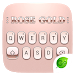 Download Rose Gold 2018 GO Keyboard Theme 4.5 APK