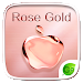 Download Rose Gold GO Keyboard Theme 4.2 APK