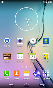 screenshot of S Launcher for Galaxy TouchWiz version 1.1.1