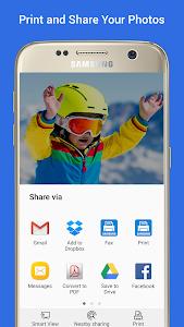 screenshot of Samsung Print Service Plugin version Varies with device
