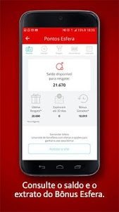 screenshot of Santander Way version 1.8.0