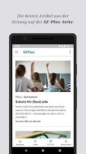 screenshot of SZ.de - Nachrichten - Süddeutsche Zeitung version 7.0.2