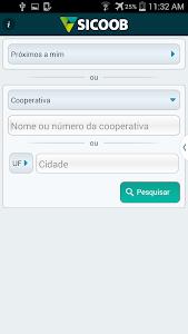 screenshot of Sicoob version 14.3.20