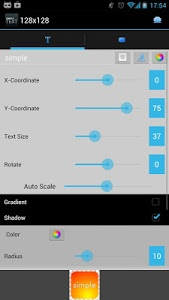 Download Simple Text-Text Icon Creator 3.6.3 APK