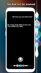 screenshot of Siri For Android Assistant version 1.1.1