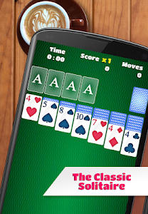 screenshot of Solitaire version 2.12.1