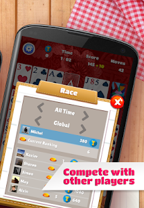 screenshot of Solitaire version 1.47