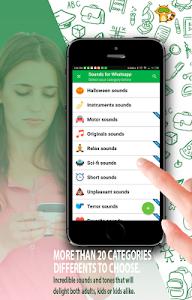Download Sounds for Whatsapp - The Best Ringtones 2.0.1.1 APK