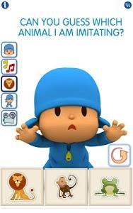 screenshot of Talking Pocoyo Free version 2.0.7.6